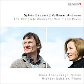 Lazzari, Andreae: Complete Works For Violin & Piano