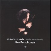 Works for violin solo by J. S. Bach & Ysae