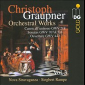 Graupner: Chamber Music Vol. 3