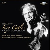 The Art of Ivry Gitlis: Violin Concertos