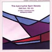 The Apocryphal Bach Motets BWV Anh. 159-165 / Helbich