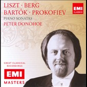 Peter Donohoe plays Liszt, Berg, Bart&oacute;k, Prokofiev