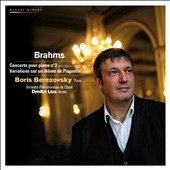 Brahms: Concerto Pour Piano No. 2; Variations sur un Th&#232;me de Paganini
