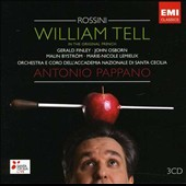 Rossini: William Tell / Antonio Pappano, Gerald Finley, John Osborn, Malin Bystrom, et al.