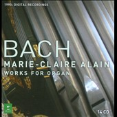 Bach: Complete Organ Works / Marie Claire Alain, organ