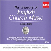The Treasury of English Church Music written 1100 - 1965