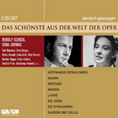 A Light from the World of Opera: Hoffmans Erzahlungen, Manon, Werther, Etc. / Rudolf Schock, Sena Jurinac