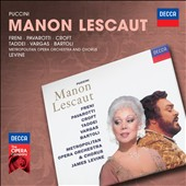 Puccini: Manon Lescaut / Freni, Pavarotti, Croft, Vargas, Bartoli