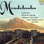 Mendelssohn: Symphonies, Midsummer Night Overtures / Zinman