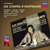 Offenbach: Les Contes d'Hoffmann /  Jessye Norman, Cheryl Studer, Anne Sofie von Otter, Francisco Araiza, Samuel Ramey - Jeffrey Tate