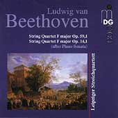 Beethoven: String Quartets / Leipziger Streichquartett