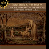 Sacred Music by John Tavener / Choir of St. George's Chapel