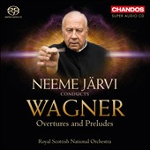 Wagner: Overtures / Neeme Jarvi, Royal Scottish National Orchestra
