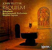 Rutter: Requiem / Layton, Polyphony, Bournemouth Sinfonietta