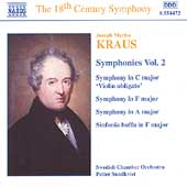 The 18th Century Symphony - Kraus: Symphonies Vol 2