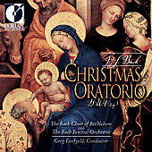 Bach: Christmas Oratorio / Funfgeld, Bach Festival Orchestra