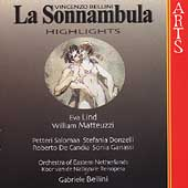 Bellini: La Sonnambula - Highlights / Bellini, Lind, et al