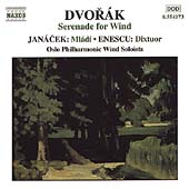 Dvorák: Serenade for Winds;  Janacek, Enescu / Oslo Soloists