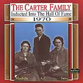 The Carter Family: Country Music Hall of Fame: 1970