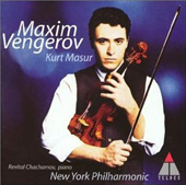Dvorak, Elgar / Maxim Vengerov, Kurt Masur, NY Philharmonic