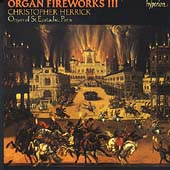 Organ Fireworks Vol 3 / Christopher Herrick