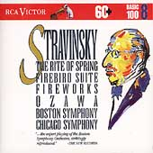 Basic 100 Vol 8 - Stravinsky: Rite of Spring, etc / Ozawa