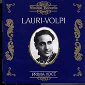 Prima Voce - Giacomo Lauri-Volpi
