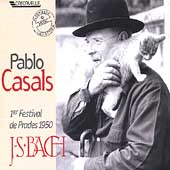 Pablo Casals - 1er Festival de Prades 1950 - J.S. Bach