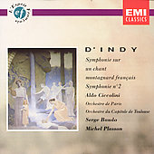 D'Indy: Symphonie sur un Chant, Symphony no 2 / Baudo, et al