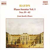 Haydn: Piano Sonatas Vol 1 / Jen&ouml; Jand&oacute;
