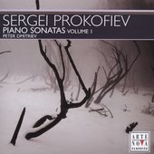 Prokofiev: Piano Sonatas Vol 1 / Pyotr Dmitriev