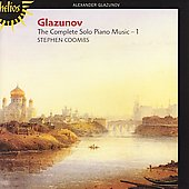 Glazunov: Complete Solo Piano Music Vol 1 / Stephen Coombs