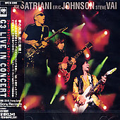 Eric Johnson (Guitar 1)/Joe Satriani/Steve Vai: G3: Live in Concert