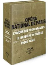 Opéra National De Paris: Prokofiev, Rossini, Tchaikovsky [4 DVD]