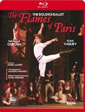 The Flames of Paris / Bolshoi Ballet, Osipova, Vasiliev [Blu-Ray]