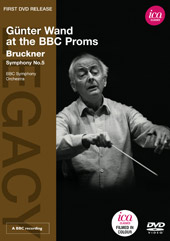 Bruckner: Symphony No. 5 / Gunter Wand at the BBC Proms [DVD]