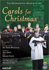 Carols For Christmas (Metropolitan Museum Of Art) Aled Jones, Gerald Finley, David Willcocks [DVD]