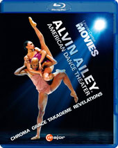 Four Favorites from the Alvin Ailey American Dance Theater: Chroma; Grace; Takademe; Revelations. Bonus: Beyond the Curtain [Blu-ray]