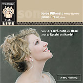 Faur&eacute;, Hahn, Head, Rossini, Handel: Songs and Arias/DiDonato