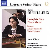 Laureate Series, Piano - Dutilleux / John Chen