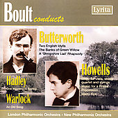 Boult conducts Butterworth, Howells, Hadley, Warlock