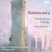 Rautavaara: Manhattan Trilogy, Symphony no 3