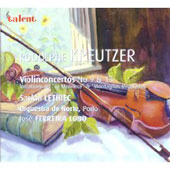 Kreutzer: Violin Concerto no 9 & 13, Variations, etc / Saskia Lethiec, Jos&eacute; Ferreria Lobo, et al