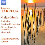 Francisco Tarrega: Guitar Music