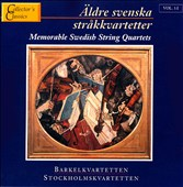 Memorable Swedish String Quartets, Vol1:1