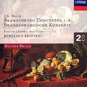 Bach: Brandenburg Concertos 1-6 / Britten, English CO