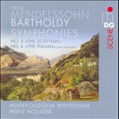 Mendelssohn-Bartholdy: Symphonies No. 3 