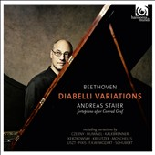 Beethoven: Diabelli Variations et al. / Andreas Staier, fortepiano after Conrad Graf