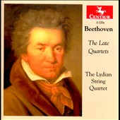 Beethoven: The Late String Quartets, Opp. 127, 130, 131, 132 & 135 / Lydian String Quartet