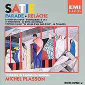 Satie: Orchestral Works & Transcriptions / Plasson, Toulouse
